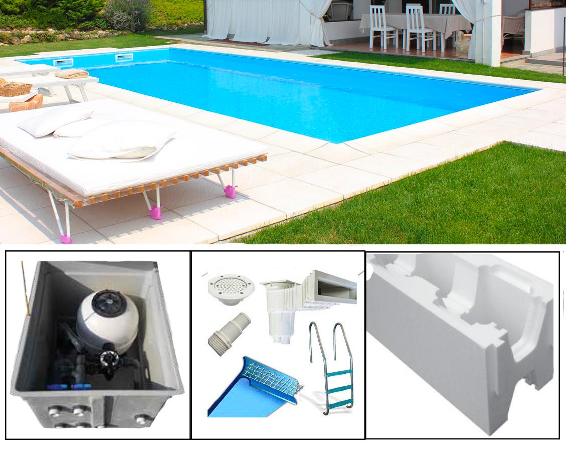 Quanto Costa Piscina Interrata piscina interrata con struttura isoblok 4x8